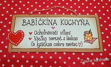 Tabuľky - Pre babku :-) - 11305083_