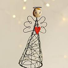 Socha - anjelka- dekorácia - 11305675_