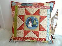 Úžitkový textil - Christmastime ... vankúš No.3 - 11307032_
