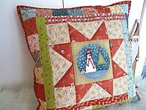 Úžitkový textil - Christmastime ... vankúš No.3 - 11307033_