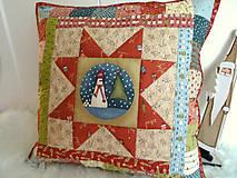 Úžitkový textil - Christmastime ... vankúš No.3 - 11307034_