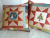 Úžitkový textil - Christmastime ... vankúš No.3 - 11307036_