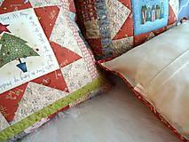 Úžitkový textil - Christmastime ... vankúš No.3 - 11307037_