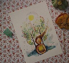 Grafika - Magická záhrada - 11306892_