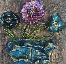 Obrazy - Kvety - obrazok na platne - 11307663_