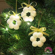 Dekorácie - Vianočný kvietok - 11308575_