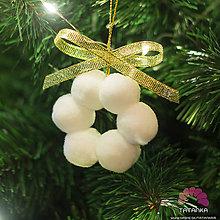 Dekorácie - Vianočný kvietok - 11308608_