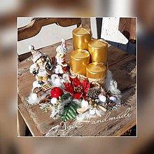 Dekorácie - vianočná dekorácia - 11308794_