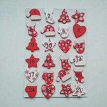Polotovary - Adventný kalendár čísla - 11306822_