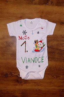 Detské oblečenie - Moje 1. Vianoce - 11306644_