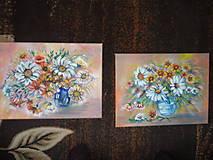 Obrazy - Kvety na stole - 11307990_