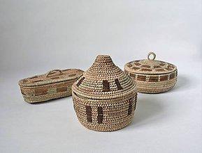 Krabičky - RUSTIK Prútená šperkovnica - Vianočná zľava - 11306262_