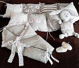 Textil - Vankúšová sada pre bábo :-) - 11305626_