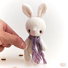 Hračky - mini-zajko - 11308087_