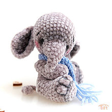 Hračky - mini-sloník - 11308153_