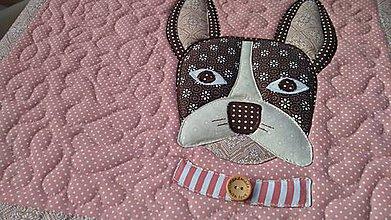Úžitkový textil - Sedák so psíkom - 11309210_