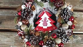 Dekorácie - Vianočný venček. - 11308636_