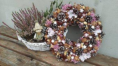 Dekorácie - Vianočný veniec... - 11308486_