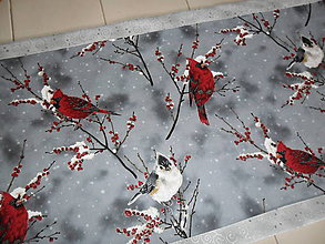 Úžitkový textil - Vianočný obrus stredový. - 11307253_