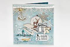 Papiernictvo - Krásne Vianoce - 11306712_