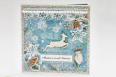 Papiernictvo - Šťastné a veselé Vianoce - 11306750_