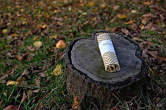 Úžitkový textil - Voskovaný obrúsok Voskáč 22x22cm (geometric) - 11307637_