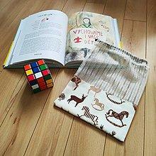 Úžitkový textil - Zero waste Aj aj vrecúško  (Húpacie koníky) - 11305634_