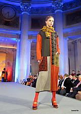 Kabáty - VITKA-pletený kabát-vícebarevný - 11309658_