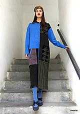 Kabáty - VITKA-pletený kabát-vícebarevný - 11309728_