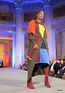 Šaty - šaty ZOLA -vícebarevné - 11309613_