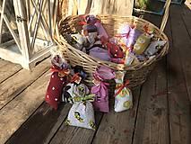 Darčeky pre svadobčanov - Levanduľove vrecúška - 11306048_