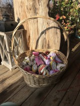 Darčeky pre svadobčanov - Levanduľove vrecúška - 11306051_
