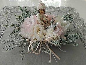 Dekorácie - Vintage dievčatko - 11310158_