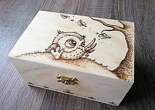 Krabičky - Šperkovnička - Myšlienky v povetrí - 11307602_