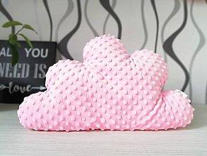 Textil - Vankúš obláčik - 11307881_