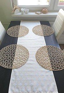Úžitkový textil - Obrus - štóla vianočná 9   40x136 cm - 11306459_