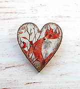 brošňa líška