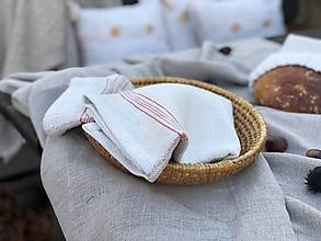 Úžitkový textil - Utierka z ľanového plátna - 11309504_