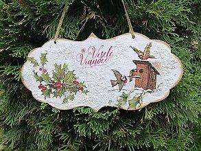 Tabuľky - veselé vianoce 1 - 11305502_