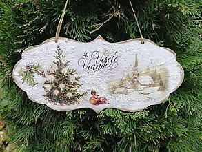 Tabuľky - veselé vianoce 2 - 11305508_