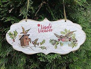 Tabuľky - veselé vianoce 4 - 11306933_