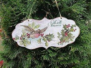 Tabuľky - veselé vianoce 5 - 11306950_