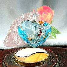 Náhrdelníky - Srdíčko pro Lásku... nebeskou * Orgo šperk - 11313478_