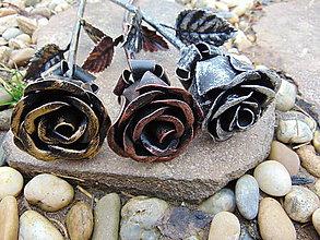Dekorácie - Kované ruže - 11311624_