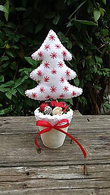 Dekorácie - Mini Vianočný stromček - 11313105_