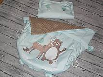 Textil - Nepremokavý termonánožník + rukávnik na kočík - 11315158_