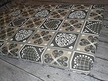 Úžitkový textil - Podsedák na lavicu - 11315206_