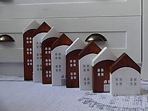 Dekorácie - Domčeky palisander - 11312530_