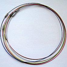 Komponenty - Lanko na krk Ø15cm-1ks - 11314332_