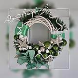 Dekorácie - vianočný veniec na dvere - 11311374_